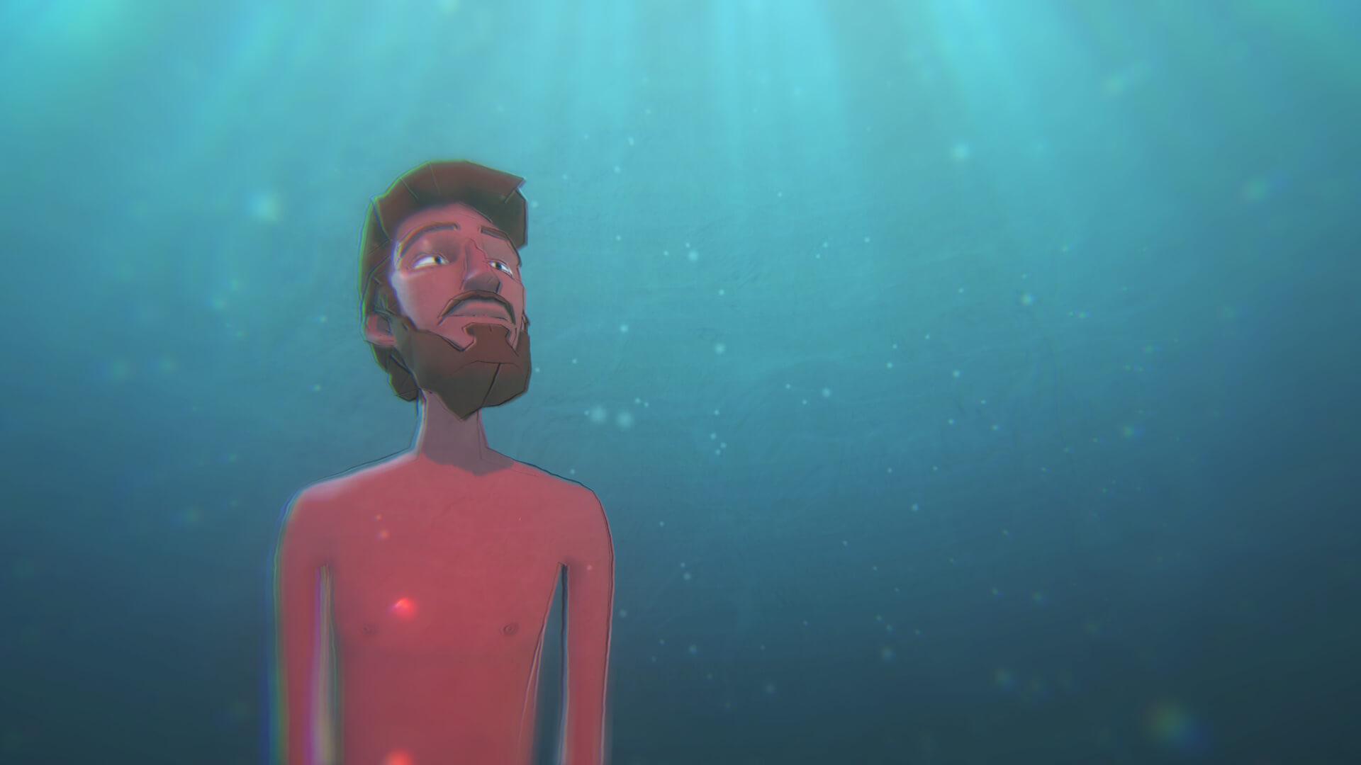 עידו הרטמן, הצל של השמש, פרט, 2019, אנימציה