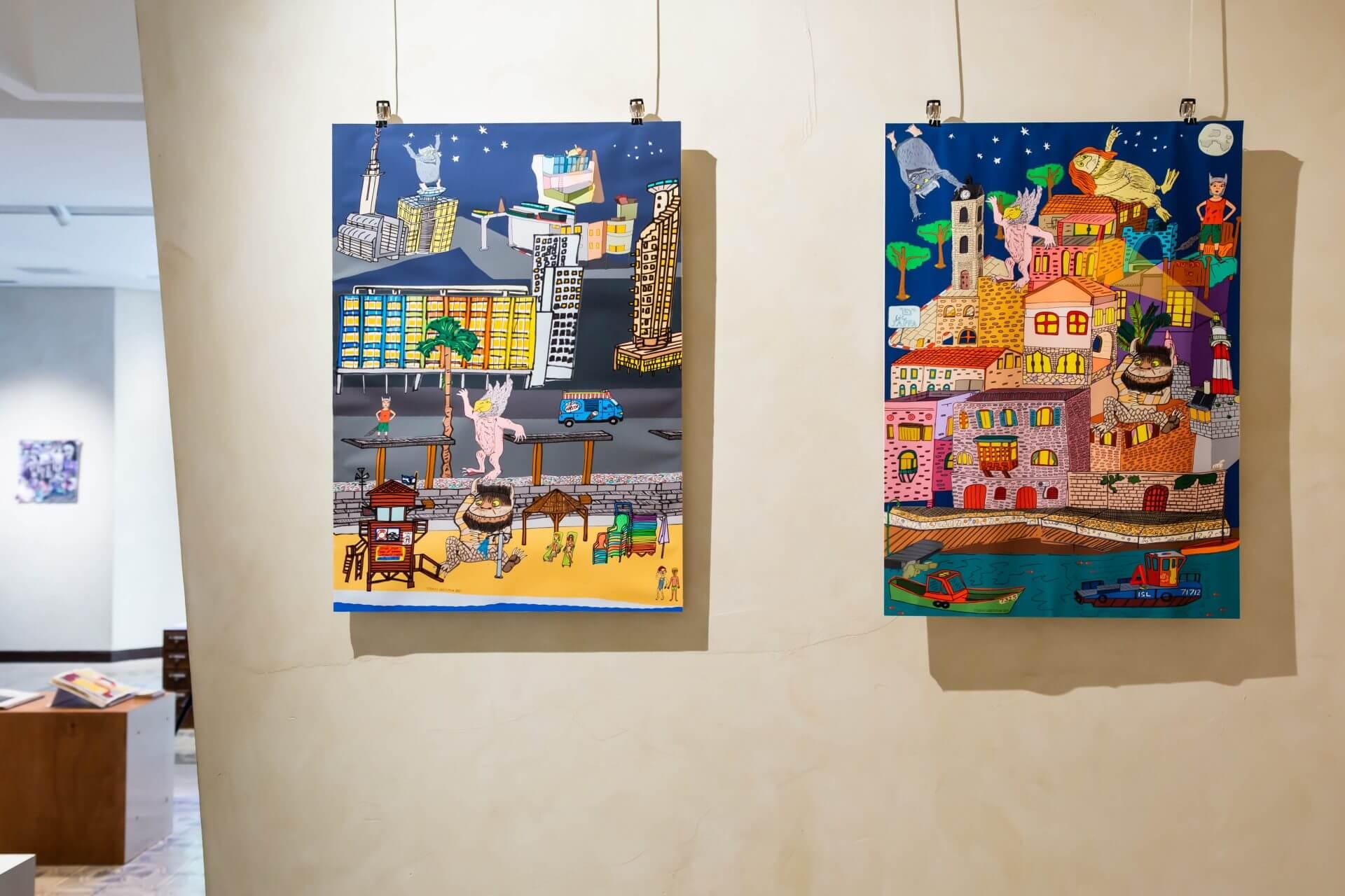 ישי גרייזמן, מסע בעיר הגדולה, שנה: 2019<br /> צילום: הילה עידו