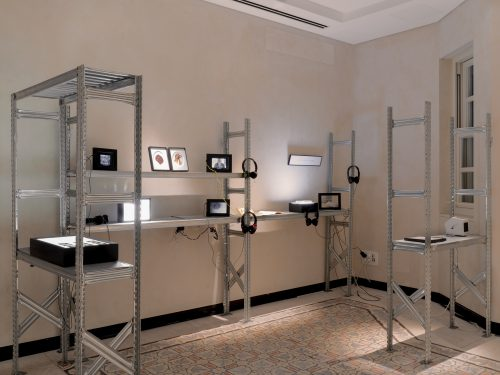 Faina Feigin and Noga Or Yam, Well, 2020, Video-Installation<br /> Photography: Yuval Naor