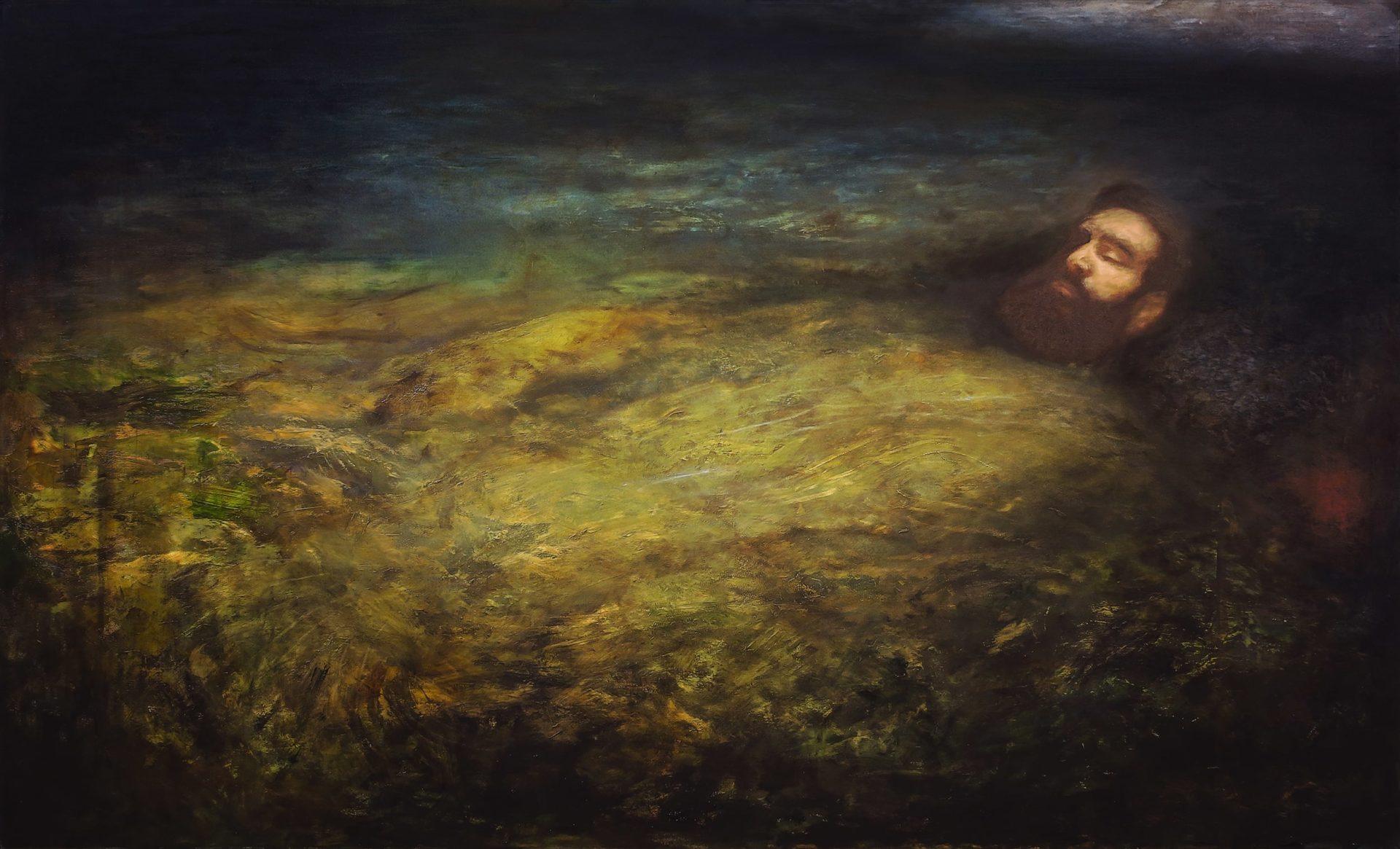 Avichai Avraham, Termination, 2020, oil on canvas
